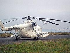 Российский вертолет в раскраске сил ООН в Южном Судане. Фото с сайта mil.ru