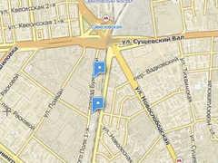 Район происшествия. Изображение с сайта maps.rambler.ru