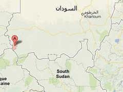 Мукджар на карте Судана. Изображение с сайта maps.google.ru
