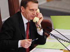 Сергей Нарышкин на пленарном заседании Госдумы. Фото РИА Новости, Владимир Федоренко