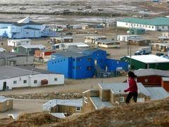 Поселок в провинции Нунавут. Архивное фото (c)AFP