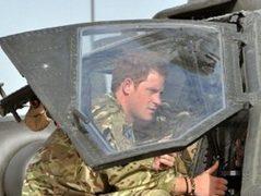 Принц Гарри в Афганистане. Фото (c)AFP