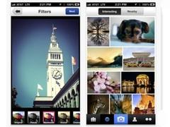 Скриншоты приложения Flickr для iPhone