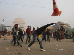 Протесты в Нью-Дели 23 декабря. Фото (c)AFP