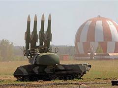 """Зенитный ракетный комплекс """"Бук"""". Фото (c)AP"""