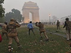 Беспорядки в Индии. Фото Reuters