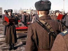 Принятие воинской присяги. Фото РИА Новости, Владимир Вяткин