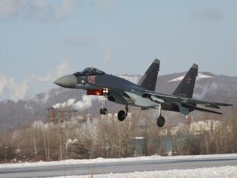 Су-35С. Фото от сайта knaapo.ru