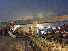 Движение машин на Киевском шоссе частично восстановили