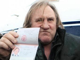 Жерар Депардье получил российское гражданство Picture