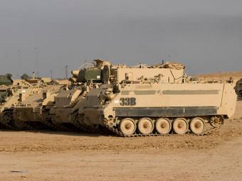 M113. Фото от сайта flickriver.com