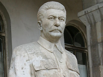 Памятник Сталину в Грузии. Фото: ИТАР-ТАСС, архив