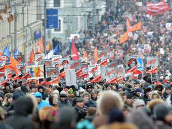 Движение по Бульварному кольцу восстановлено после акции протеста
