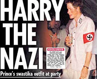 Daily Telegraph: принц Гарри спровоцировал 10 антисемитских выходок.