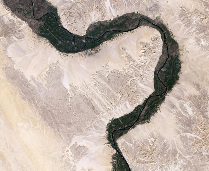 Реки из космоса