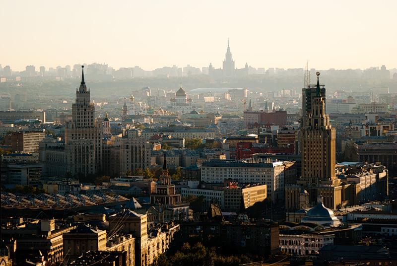 На Москву свысока