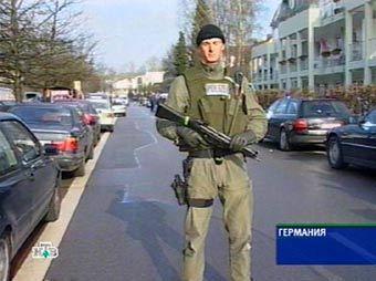 Сотрудник немецкой полиции. Кадр телеканала НТВ, архив