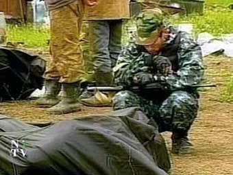 В Чечне солдат застрелился из пулемета