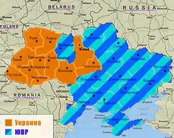 Так будет выглядеть карта, если все участники съезда сумеют организовать и выиграть референдум в своих областях