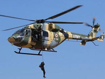Вертолет Dhruv. Фото с сайта indianarmy.nic.in