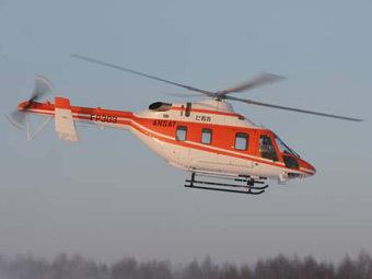 """Вертолет """"Ансат"""". Фото Казанского вертолетного завода"""