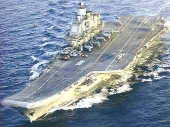 """Авианесущий крейсер """"Адмирал Кузнецов"""". Фото с сайта naval-technology.com"""