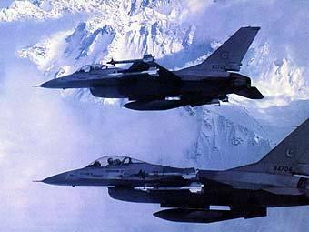 Истребители F-16 ВВС Пакистана. Фото с сайта fas.org