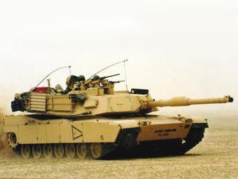 Танк M1A1 Abrams. Фото с сайта worldwide-military.com