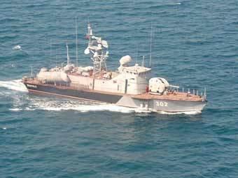 Грузинский ракетный катер. Фото с сайта navy.ru