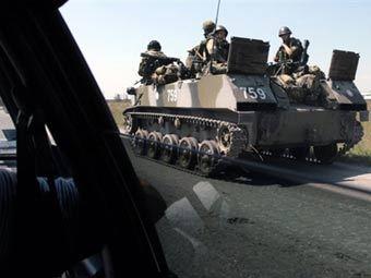 Российские военные. Фото AFP