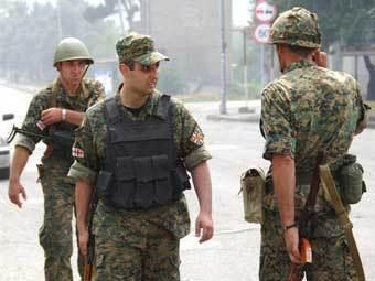 Грузинские военные. Фото AFP