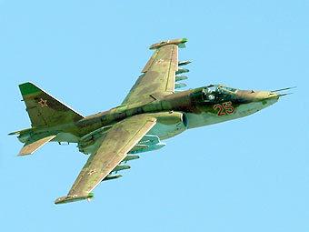 Применяемый в зоне конфликта Су-25 ВВС России. Фото с сайта combatavia.info