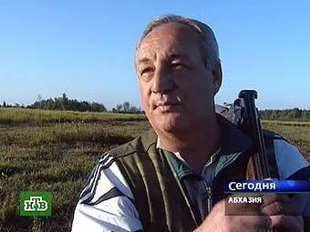 Сергей Багапш. Кадр телеканала НТВ, архив.