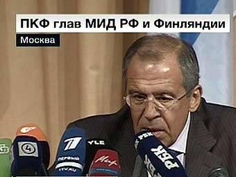 """Сергей Лавров. Кадр телеканала """"Вести 24"""""""