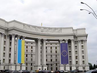 """Здание МИД Украины. Фото """"Ленты.Ру"""""""