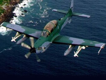 УБС EMB-314 Super Tucano. Иллюстрация с сайта defenseindustrydaily.com