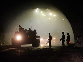 Рокский тоннель. Фото AFP