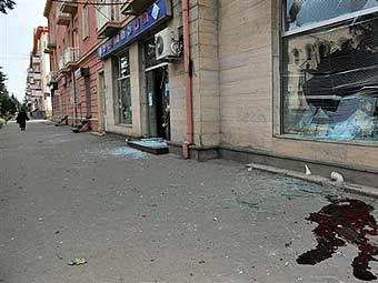 Улица в Гори. Фото AFP