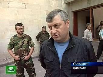 Эдуард Кокойты. Кадр телеканала НТВ