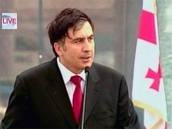 Михаил Саакашвили. Кадр CNN.