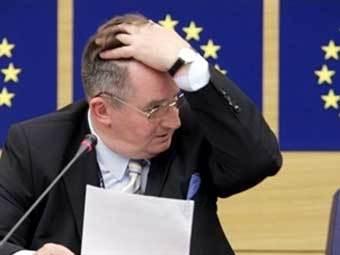 Глава комитета по международным делам Европарламента Яцек Сариуш-Вольски. Фото AFP