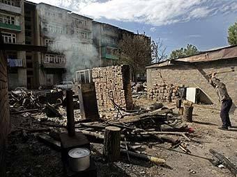 Вид на Цхинвали. Фото AFP