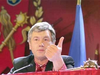 Виктор Ющенко. Фото пресс-службы президента Украины
