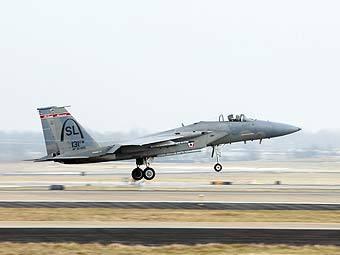 F-15C ВВС США. Фото с сайта af.mil