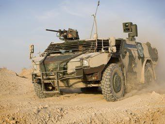 Бронемашина Fennek голландского контингента в Афганистане. Фото с сайта realitymod.com