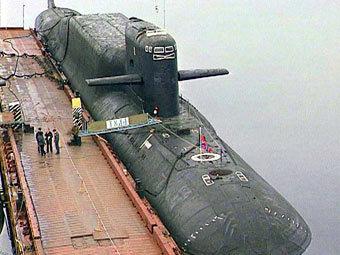 """Подводный ракетоносец """"Тула"""", с которого была запущена МБР. Фото с сайта russianforces.org"""