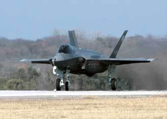 Самолет F-35. Фото с сайта af.mil