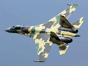 """Су-35. Фото пресс-службы компании """"Сухой"""""""