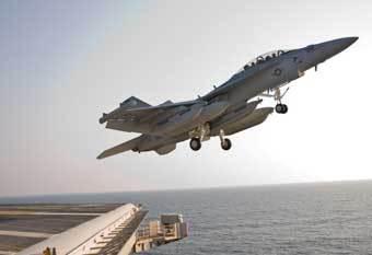 Самолет EA-18G Growler. Фото US Navy.