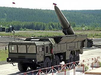 """Ракетный комплекс """"Искандер"""". Фото ©AFP"""
